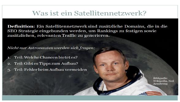 SEO Satellitennetzwerke