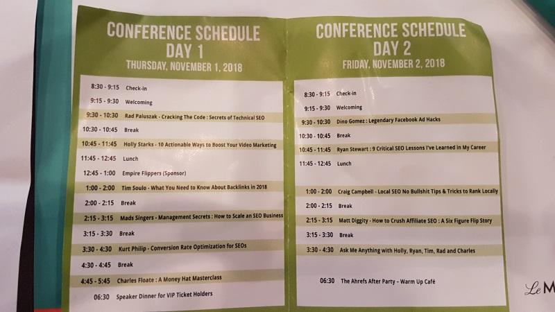 Agenda Conference