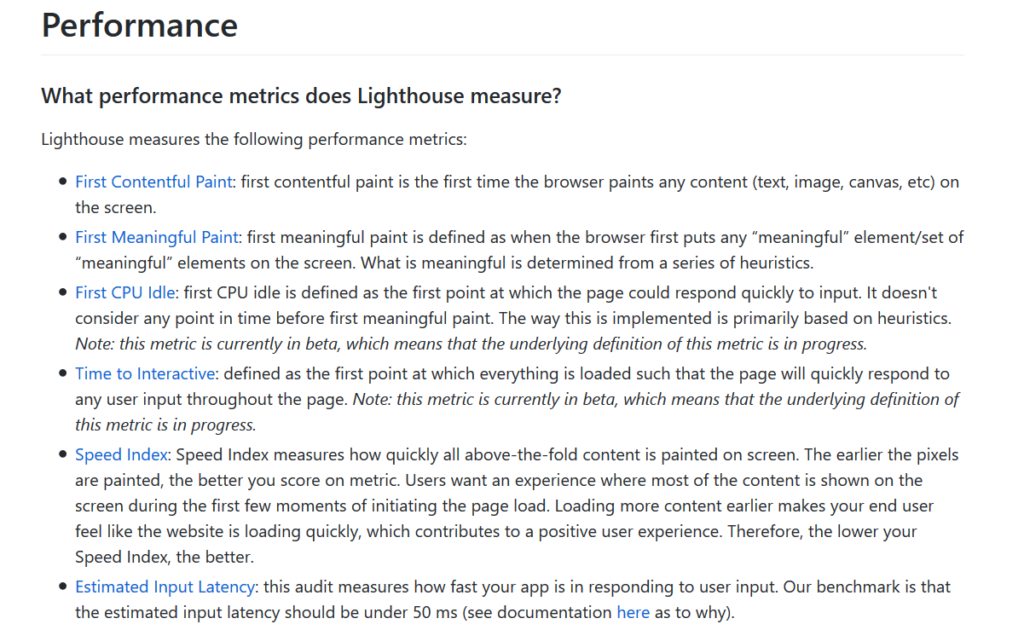 Lighthouse Report